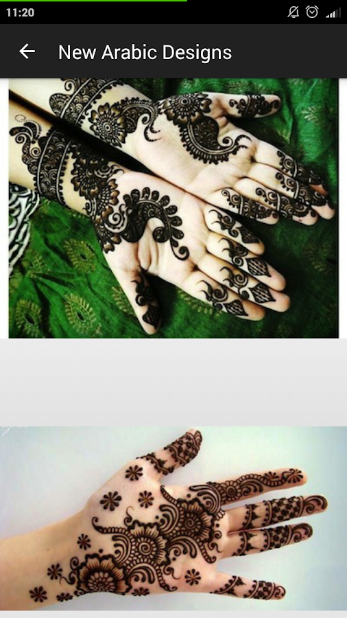 Mehndi Designs Henna 2018 Kids Tattoo & Nail Arts- screenshot