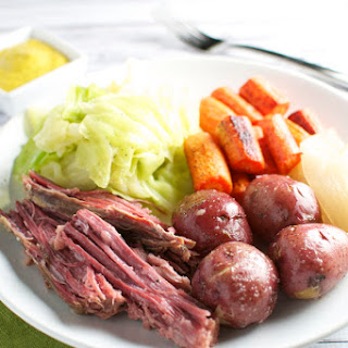 Corned Beef and Cabbage with the Fixins'.