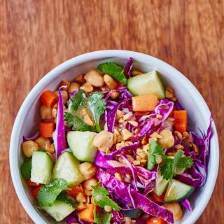 Honey-Garlic Chopped Chickpea Salad.