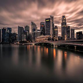 by Gordon Koh - City,  Street & Park  Vistas (  )