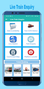 Train Enquiry, Indian Railway – IRCTC & PNR Status App Download For Android 2