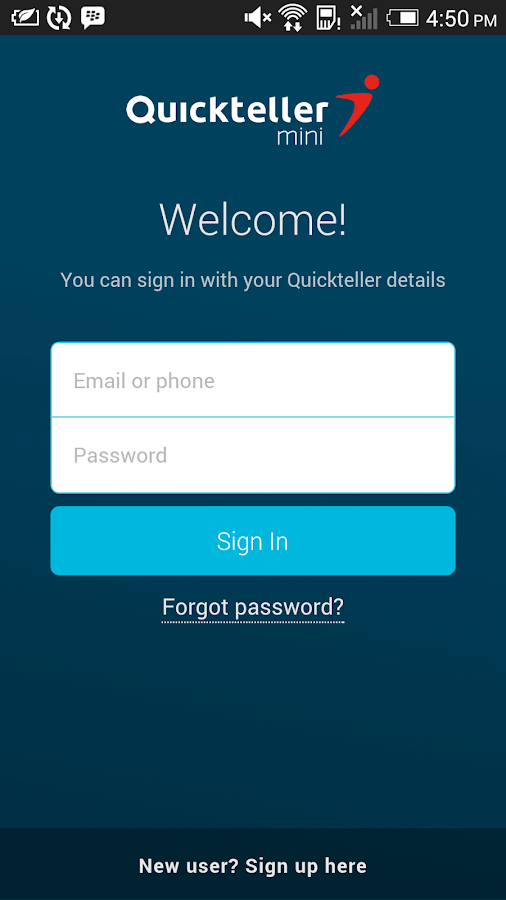 Quickteller Mini- screenshot