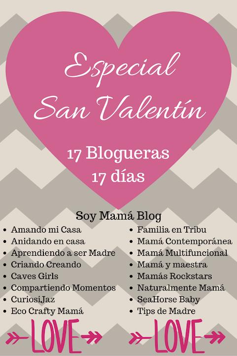 Especial San Valentín: 17 blogueras, 17 días
