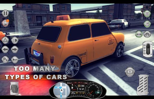 Amazing Taxi City 1976 V2 game (apk) free download for Android/PC/Windows screenshot