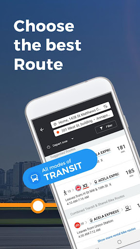 Moovit: Bus Times, Train Times & Live Updates 5.35.0.416 screenshots 2