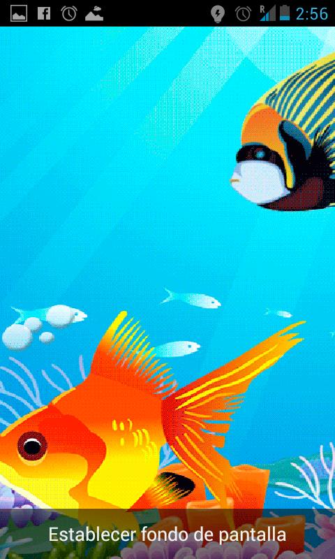 Fondos animados acuario gratis aplicaciones android en for Fondos animados gratis