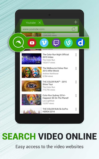 Dolphin Video - Flash Player For Android 1.3 screenshots 8