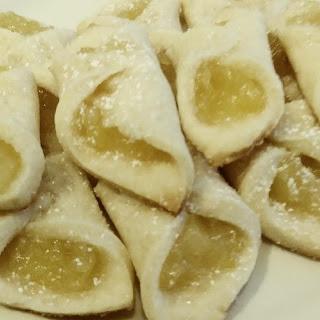Pineapple Bow Tie Cookies.