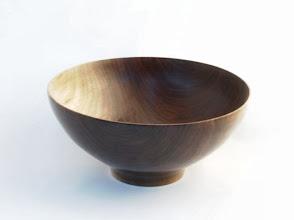 "Photo: Ilya Zavorin - Bowl - 10"" x 4.5"" - Walnut"