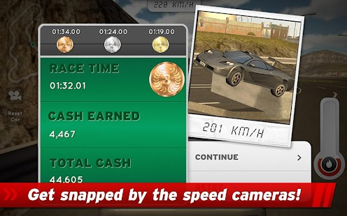 Highway Rally: Fast Car Racing- screenshot thumbnail