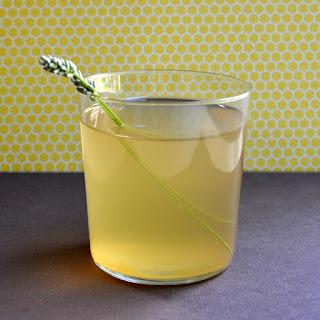 Lavender Chamomile Mint Tea with Lemon and Honey.