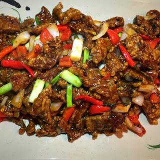 Delicious Spicy Beijing Beef