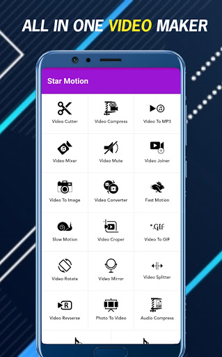 Video Editor - Star Motion Video Maker With Music cheat hacks