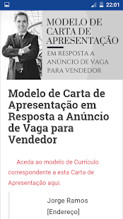 Currículo Pronto: miniatura da captura de tela