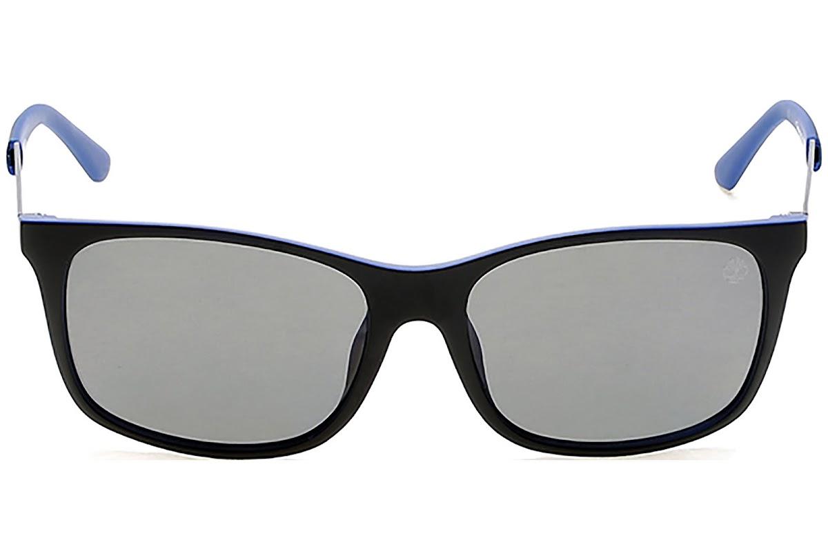 1fb64b9c13 Polarized Sunglasses Timberland TB9095 C56 91D (matte blue   smoke polarized )