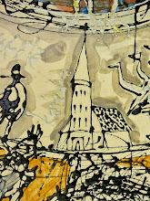Photo: E.Birgėla. Miestelio mandala. Fragmentas.