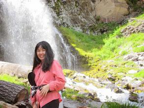 Photo: Vaness at Plaikni Falls