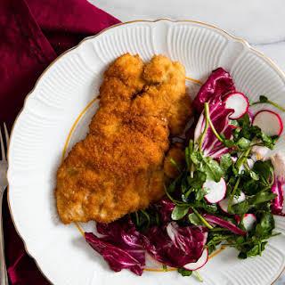 Easy Breaded Fried Chicken Cutlets.