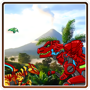 Dino Robot Finder for PC and MAC