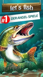 Let's Fish: Angelspiele. Angeln Simulator. Screenshot