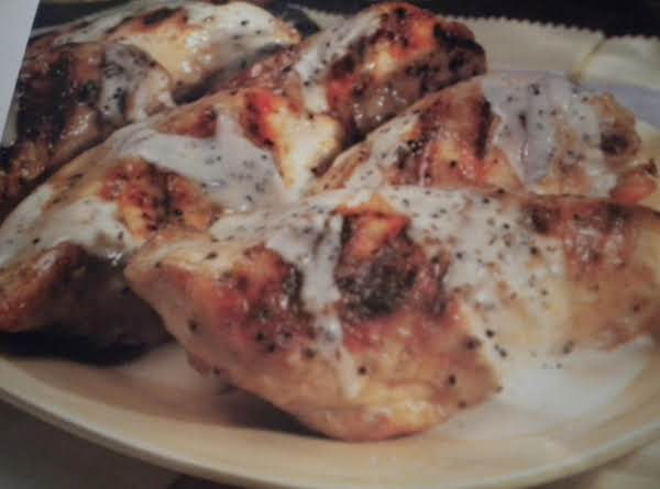 Chicken With White Barbecue Sauce
