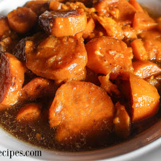 Slow Cooker Southern Candied Yams.