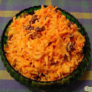 Shredded Carrot Salad With Raisins Recipes.