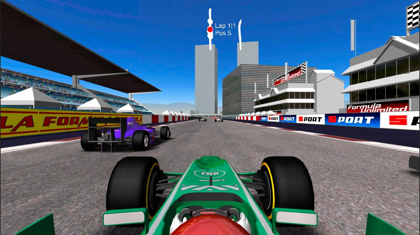 Formula Unlimited Racing- screenshot