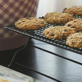 Honey Oatmeal Chocolate Chip Cookies.
