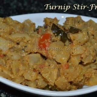 Turnip Stir-Fry