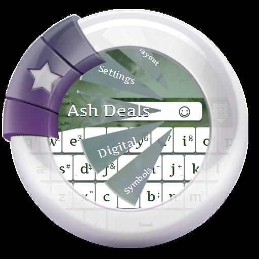 个人化のアッシュのお買い得情報 GO Keyboard LOGO-記事Game