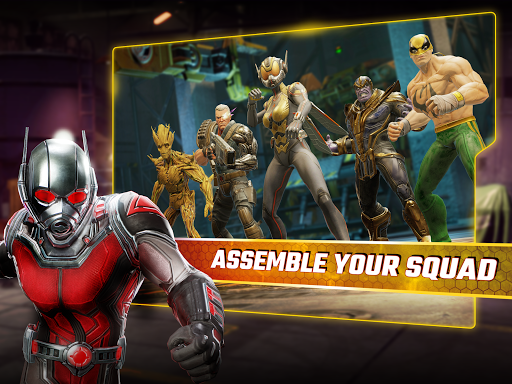 MARVEL Strike Force 1.3.2 gameplay | by HackJr.Pw 13