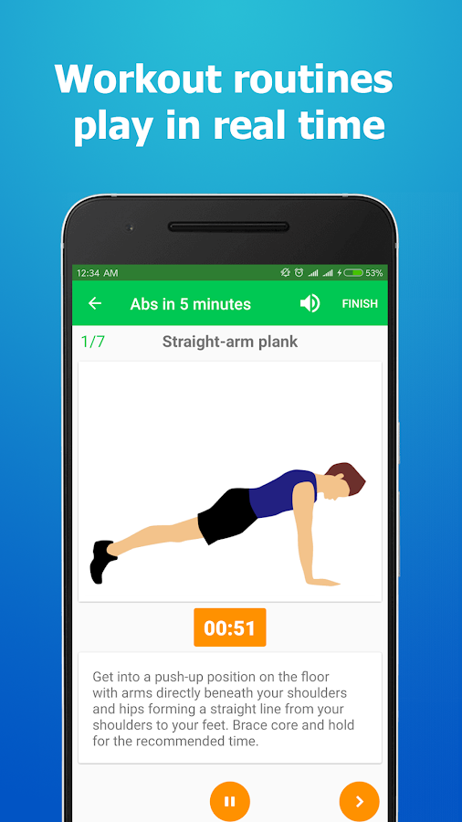 Home Workouts - No Equipment- screenshot