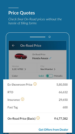 CarWale - New cars, used cars prices in India 6.0.2 screenshots 2