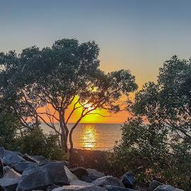 Sunrise by Taz Graham - Novices Only Landscapes ( ocean, sunrise, landscape )