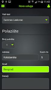 Taxi Cammeo Srbija screenshot 8