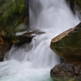 Naga Waterfall by Sanjib Laha - Landscapes Waterscapes (  )
