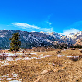 Rocky Mountain winter by Bruce Newman - Landscapes Mountains & Hills ( mountains, nature, plains, winter, landscape, colorful,  )