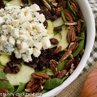 Winter Salad with Apples, Pecans, Blue Cheese and Dried Cherries~.