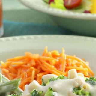 Orange-Glazed Shredded Carrots