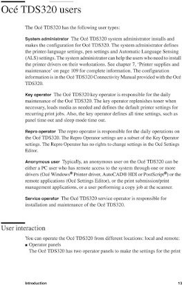 Oce 3165 key operator manual Oce Tds Wiring Diagram on