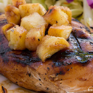 Pineapple Grilled Chicken.