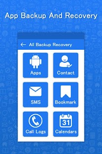 Mobile App Backup & Restore Delete Data - náhled