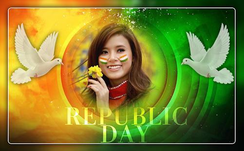 Republic Day Photo Frame 2018 - 26 Jan Frames - náhled