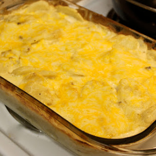 Creamy Scalloped Potatoes.