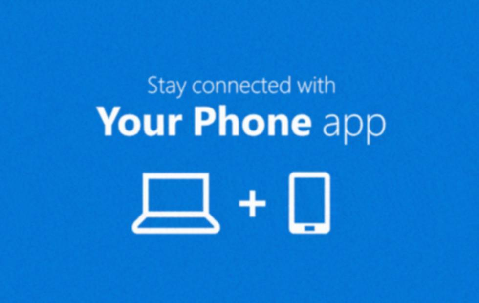 Image result for Microsoft's 'Your Phone' app