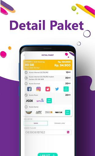 AXISNET u2013 Cek & Beli Kuota, Promo Paket Internet 7.2.0 screenshots 6