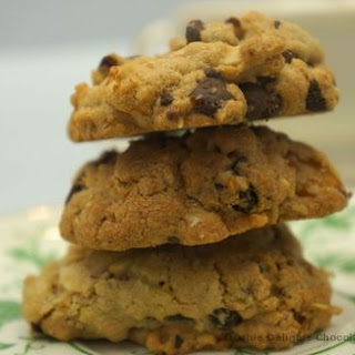 Double Delights Chocolate Chip Fruit Cookies.