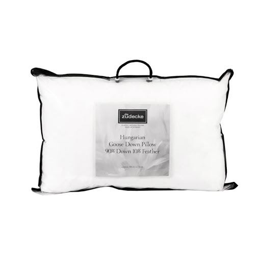 Die Zudecke Hungarian White Goose Down Pillow