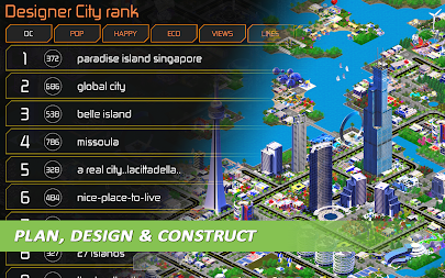 Designer City: building game APK screenshot thumbnail 14